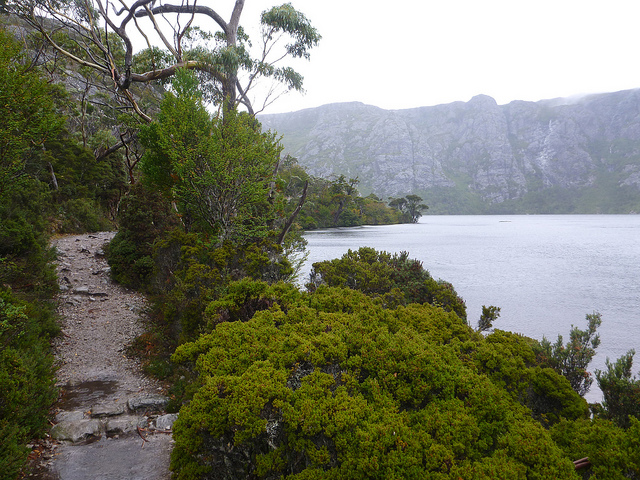 Crater Lake Tasmania travel