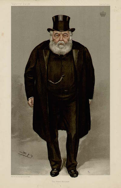 buckland marquis salisbury_Vanity_Fair,_1900 travelled to Tasmania for his health in 1851
