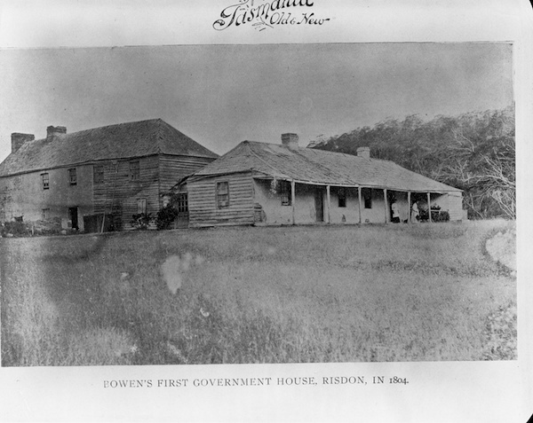 Bowen's first Government House Risdon AB713-1-8163