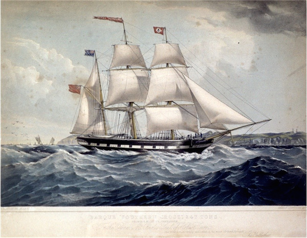 Barque southerncross185317 lithograph produced 1853 autas0011240681231.jpg