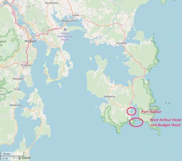 Port Arthur map openstreetmap.com.png
