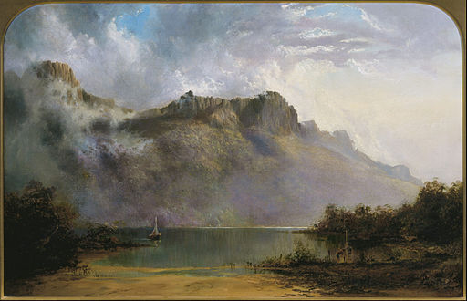Piguenit_-_Mount_Olympus,_Lake_St_Clair,_Tasmania,_the_source_of_the_Derwent_-_Google_Art_Project